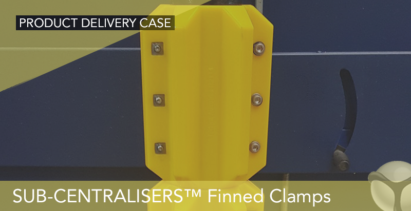Equipment - SUB-CENTRALISERS™ Finned Centraliser Clamps
