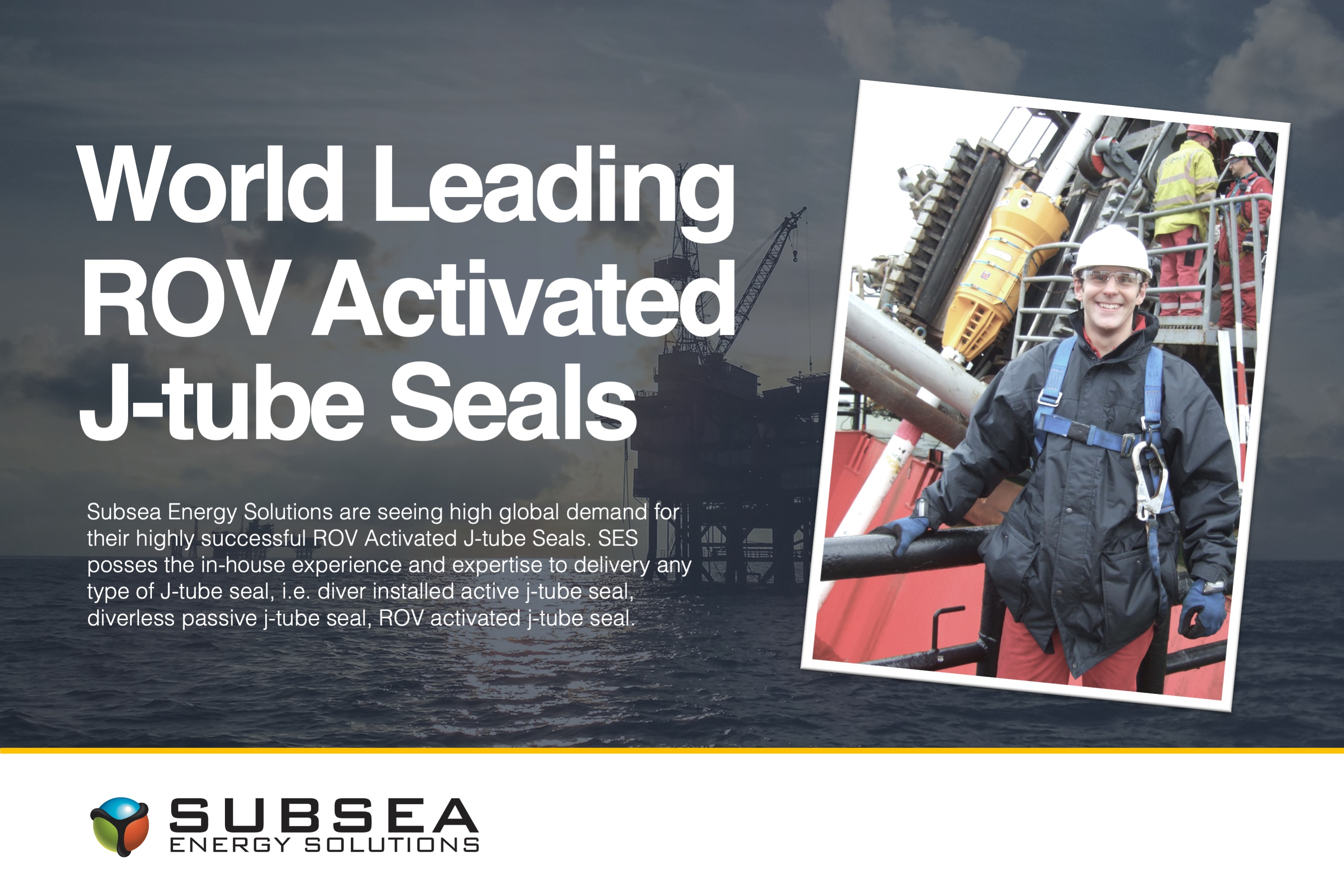 World leading ROV Activated J-tube Seals in demand