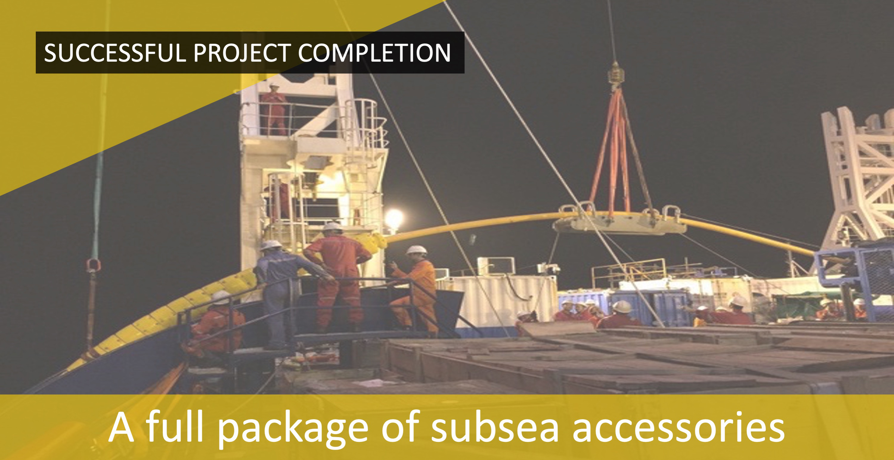 Subsea Energy Solutions Delivers CNOOC Wenchang Gas Development Project