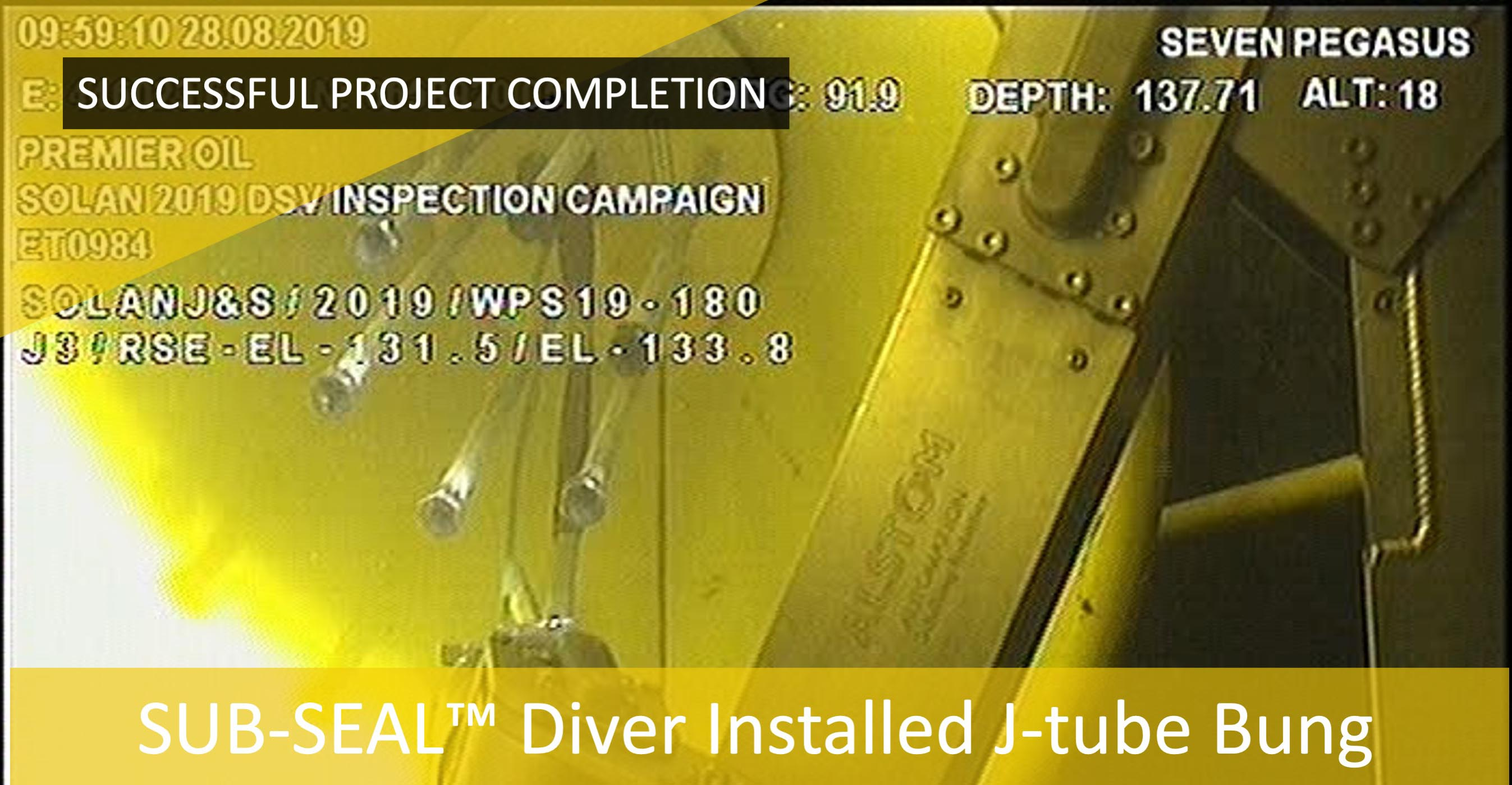 Subsea Energy Solutions (SES) deliver J Tube Project in One Week.