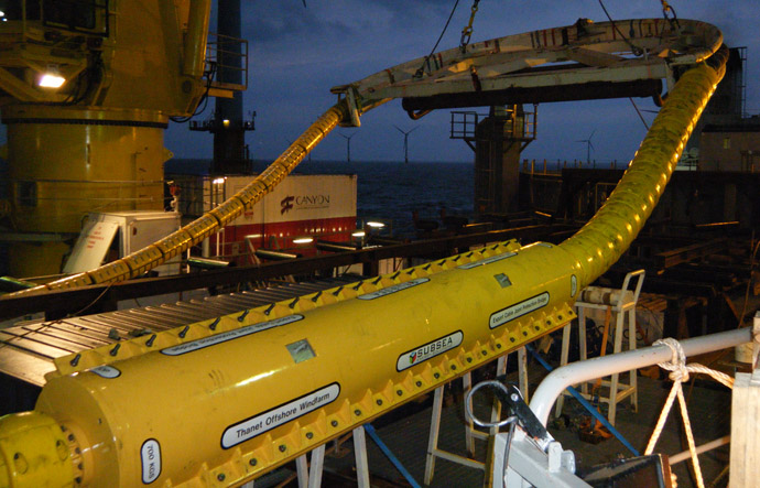Subsea Energy Solutions Gt Case Studies Gt Thanet Offshore